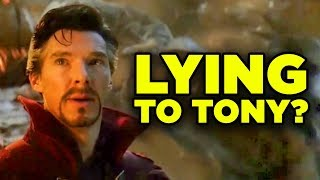 Avengers Endgame Doctor Strange's LIE Explained!
