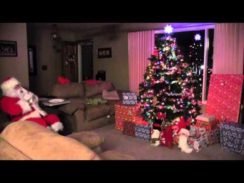 Santas Visit to the Fortin house 2011 - HD 1080p Video Sharing