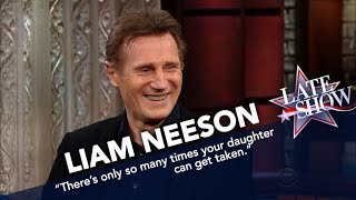 Liam Neeson Says He'd Consider Making 'Taken 4'