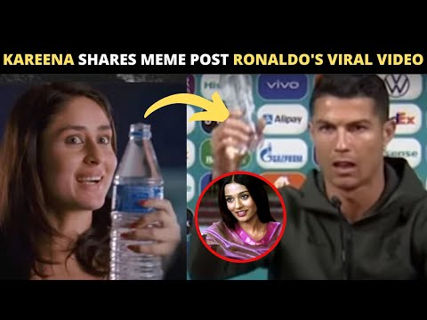 Kareena Kapoor shares 'Jab We Met' MEME post Cristiano Ronaldo's viral video