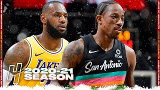 Los Angeles Lakers vs San Antonio Spurs - Full Game Highlights | January 1, 2021 NBA Season