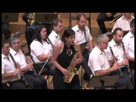 Concierto de Saxofón y Banda EURITMIA Enrique de Tena