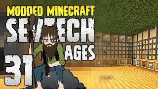 Minecraft SevTech: Ages | 31 | VeinMiner?! New Base!? MEGA-EPISODE! | Modded Minecraft 1.12.2