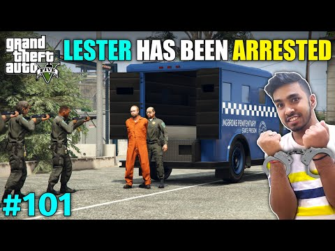 CAN WE SAVE LESTER FROM GOING TO PRISON | GTA V GAMEPLAY #101