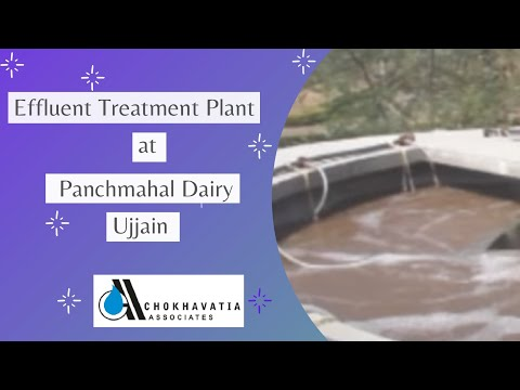 Panchmahal Dairy - Effluent Treatment Plant - Erection And Commissioning - Ujjain