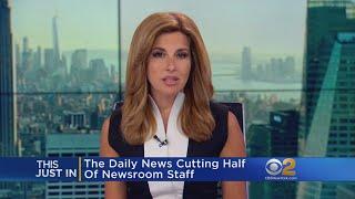 Daily News Cutting Half Of Newsroom Staff