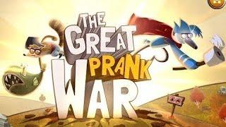 Regular Show - The Great Prank War [ Full Gameplay ] - Regular Show Games