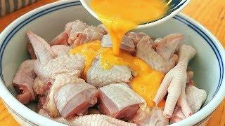雞肉別炒著吃了,教你一個好吃做法,3斤雞肉不夠吃,超過癮! 【小穎美食】