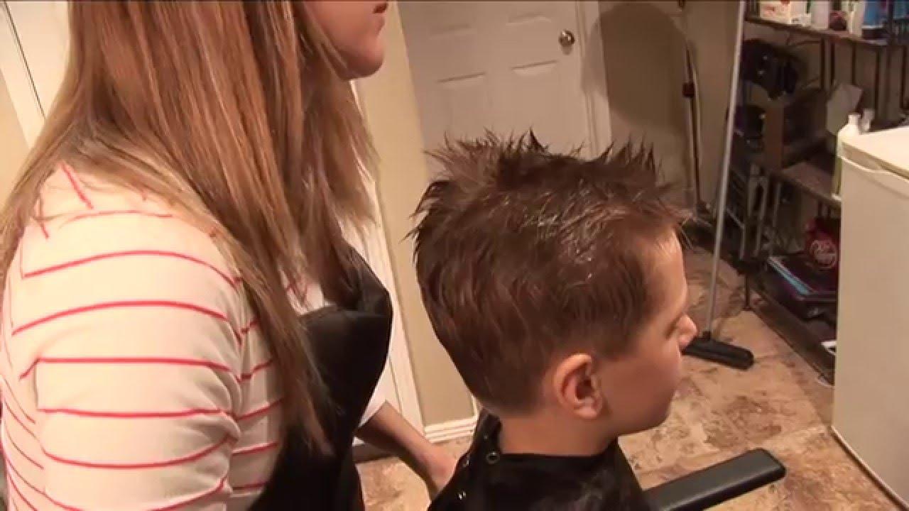 0 Cut Hair Style: HOW TO CUT BOY'S HAIR // Basic Boys Haircut // Hair