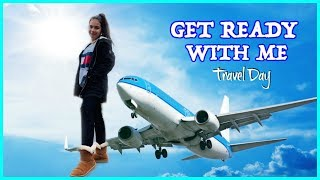 GET READY WITH ME :TRAVEL DAY !!!! SISTERFOREVERVLOGS #430