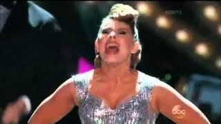 Bindi Irwin & Derek Hough Dance Quickstep - Dancing With The Stars - Wow