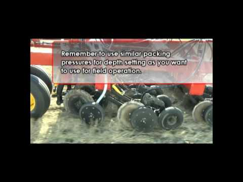 Bourgault 3710 Independent Coulter Drill Operator's Video - Part 3 of 3