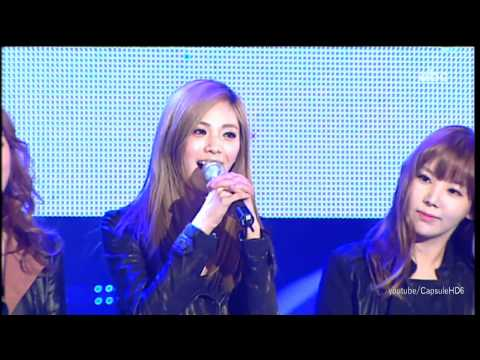 [Live HD 720p] 111219 - After School - Because Of You Live @ 2011 Volunteer Festival Congratulation