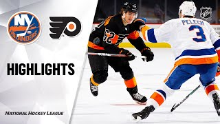 Islanders @ Flyers 1/31/21 | NHL Highlights