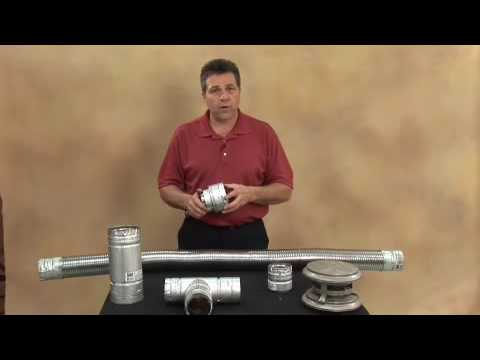 Pellet Stove Or Fireplace Venting Demonstration Part 2