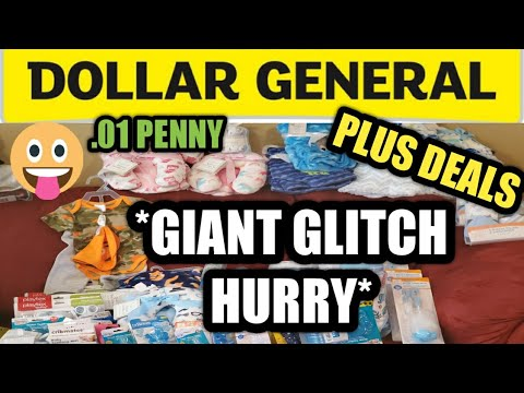 12/22/2020 DOLLAR GENERAL COUPONING | DEALS | GIANT GLITCH HURRY AND FINDING PENNIES.
