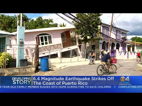 Puerto Rico Rocked By 6.4 Magnitude Earthquake