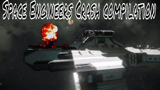 Space Engineers Crash compilation with The Update 1.186