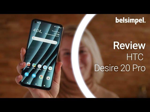 Belsimpel-productvideo voor de HTC Desire 20 Pro