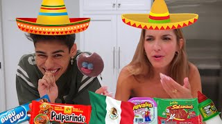 MAKING LEXI TRY MY FAVORITE MEXICAN CANDY!
