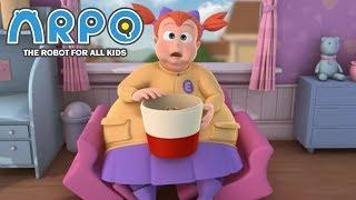 ARPO The Robot For All Kids - Big Girl Breaks Sofa | Compilation | Cartoon for Kids