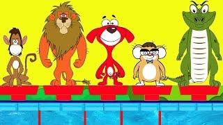 Rat-A-Tat |'Funny Animals Swimming Race + More Videos for Kids'| Chotoonz Kids Funny Cartoon Videos