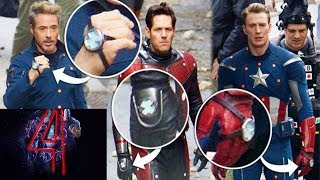 Avengers 4- Time Travel Confirmed/ Leaked Photos