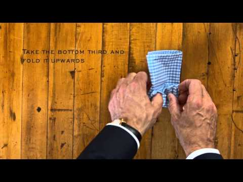 How To Fold A Classic Pocket Square