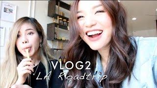 (ENG)VLOG 2: LA Roadtrip - Meet up with Changmakeup | Tina'sBeautyTips