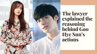 Lawyer Reveals The Reason Why Goo Hye Sun Continues To Reveal Shocking Details Through Social Media