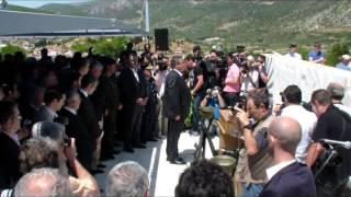 Πάνος Καμμένος - Δίστομο, κατάθεση στεφάνου 10-06-2013