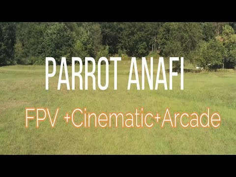 video Parrot ANAFI FPV