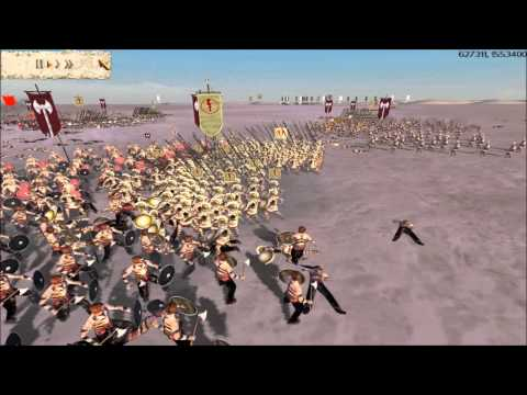 (Cinematic-Style) Rome Total War Online Battle #2030: Five Player Free-For-All
