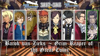 Ace Attorney: All Prosecutor Themes 2016