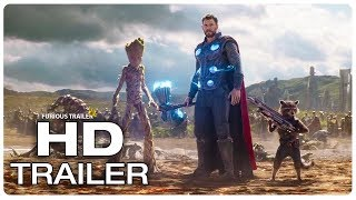 AVENGERS INFINITY WAR Thor Arrives In Wakanda Fight Scene Trailer (2018) Superhero Movie Trailer HD