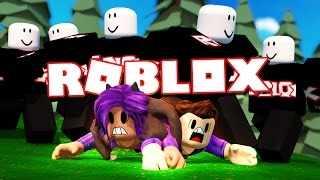 SURVIVE A HORDE OF ROBLOX GUESTS! (Survive the Disasters)
