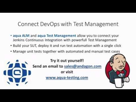 From Jenkins CI to aqua ALM - Connect DevOps with Test Management
