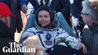 Russian movie crew return to Earth after filming 12 days on the International Space Station