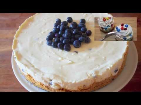 Baixar No Bake Blueberry Cheesecake - Cooked by Julie