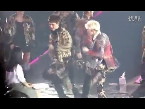 [Fancam] 140524 EXO Dance Battle (SNSD Genie and Gee) with Lucky Fan