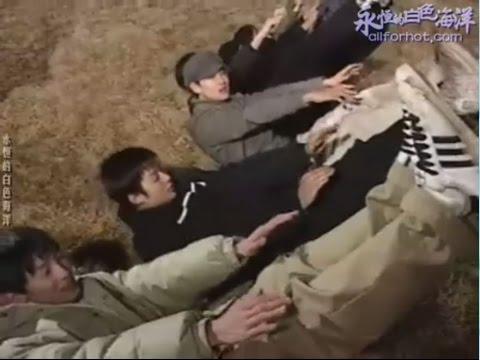 [2002年生存訓練] Heejun VS KangTa 世紀對決 Part 2 【俊秀、銀赫、晟敏、魯敏宇】- 體力訓練 +「鬥雞」遊戲