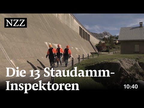 Unterwegs mit den Staudamm-Inspektoren