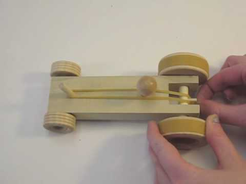 Vanessa Wood design: How to make a wooden rubber band car