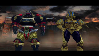 [No death] Ninpuu sentai Hurricanger (PS1)