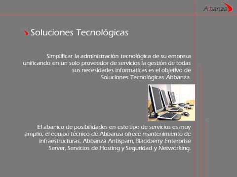 Abbanza Soluciones tecnológicas