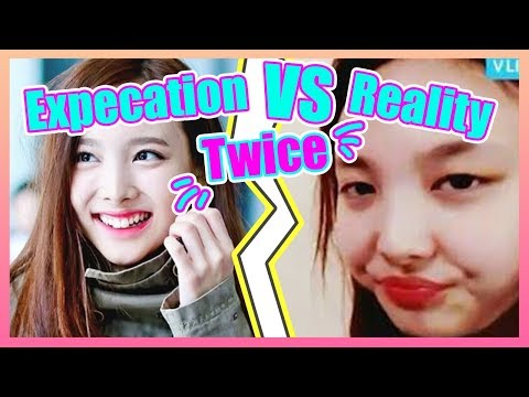 TWICE (트와이스) 理想與現實 | Expectation VS Reality