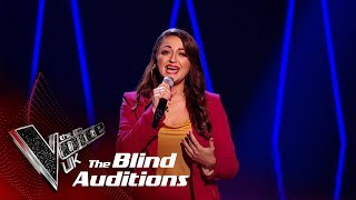 Christina Ellinas' 'Lullaby'   Blind Auditions   The Voice UK 2019
