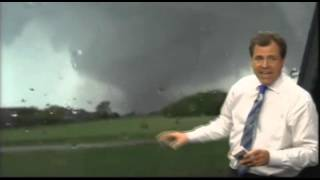 Moore, OK Deadly Tornado from KFOR live broadcast (May 20, 2013)