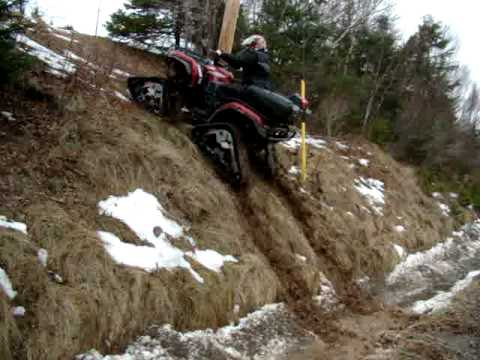yamaha grizzly hill climb