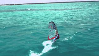 Velocidad de un windsurf